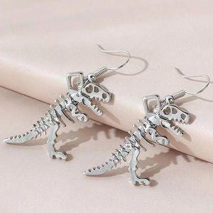 🦖 Tyrannosaurus Dino Drop Earrings 🦖